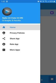 Radio24 IlSole24ORE App Italia Free Online screenshot 1