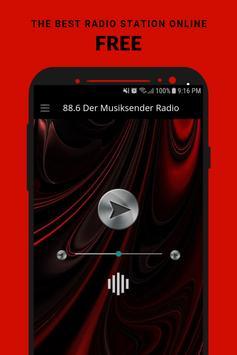 88.6 Der Musiksender Radio App AT Free Online poster
