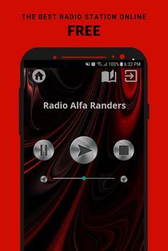 Radio Alfa Randers App DK Free Online poster