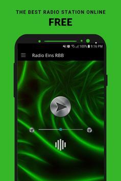Radio Eins RBB poster