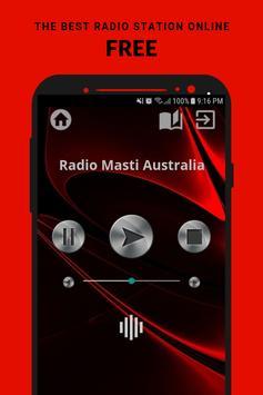Radio Masti Australia App AU Free Online poster