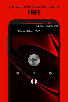 Radio Metro 105.7 App FM AU Free Online poster