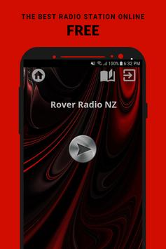 Rover Radio NZ poster