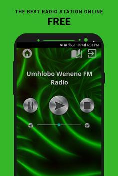 Umhlobo Wenene FM Radio poster