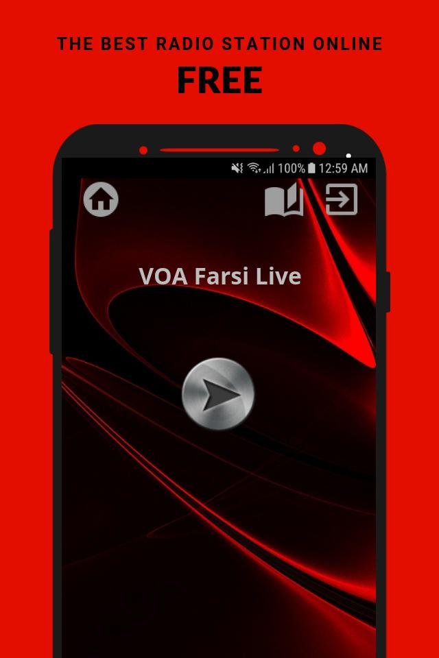 VOA Farsi Live Radio App USA Free Online for Android - APK Download