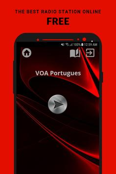 VOA Portugues Radio App Live USA Free Online poster