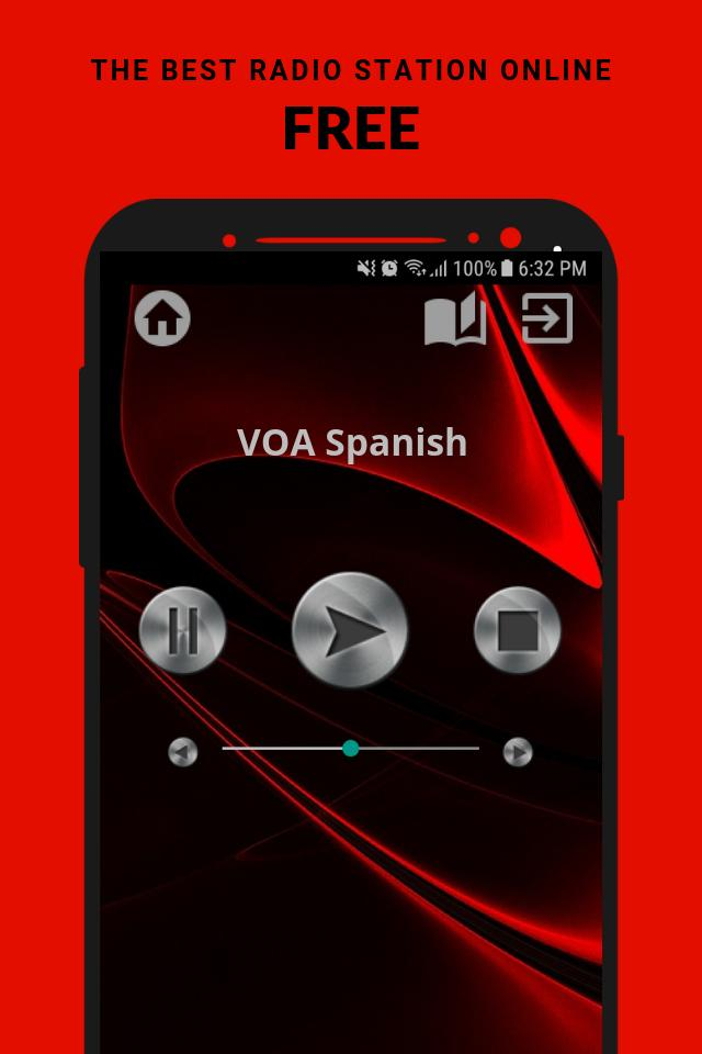VOA Spanish Español Radio App Live USA Free Online for
