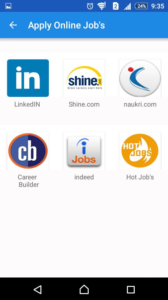 Online Job Search >> Fresher Job Tips Interview Tips Job Search For Android
