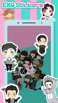 EXO Stickers & Photo Editor For EXO-L poster