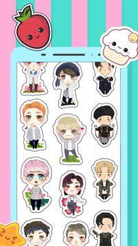 EXO Stickers & Photo Editor For EXO-L screenshot 1