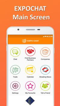 EXPO CHAT Business Messenger poster