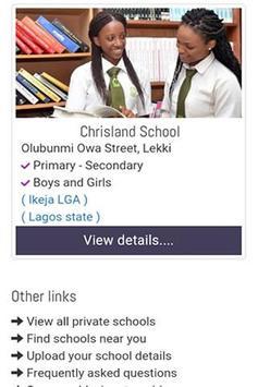 Private Schools in Nigeria screenshot 1