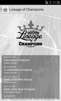 Lineage of Champions poster