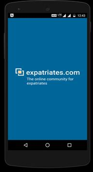 expatriates.com poster