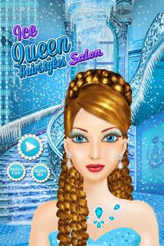 Ice Queen Hair Styles Salon poster