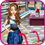 supermarché shopping girl APK