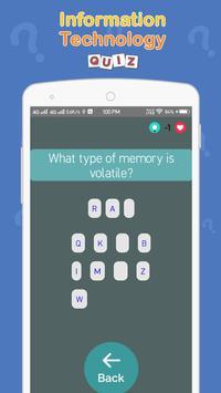 Information Technology Quiz screenshot 5