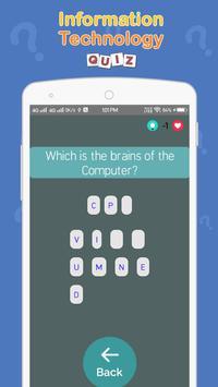 Information Technology Quiz screenshot 6
