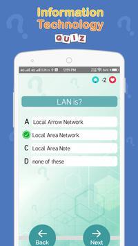 Information Technology Quiz screenshot 3