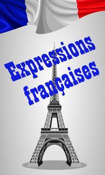 Meilleures expressions françaises poster