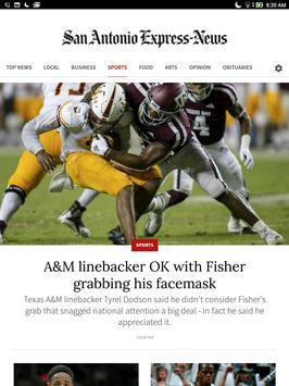 San Antonio Express-News screenshot 5