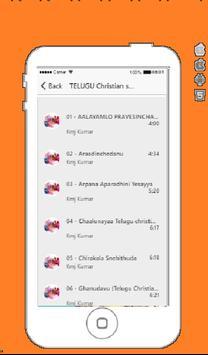 Telugu Christian Songs 2019 captura de pantalla 1