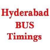 Hyderabad Bus Timings icon