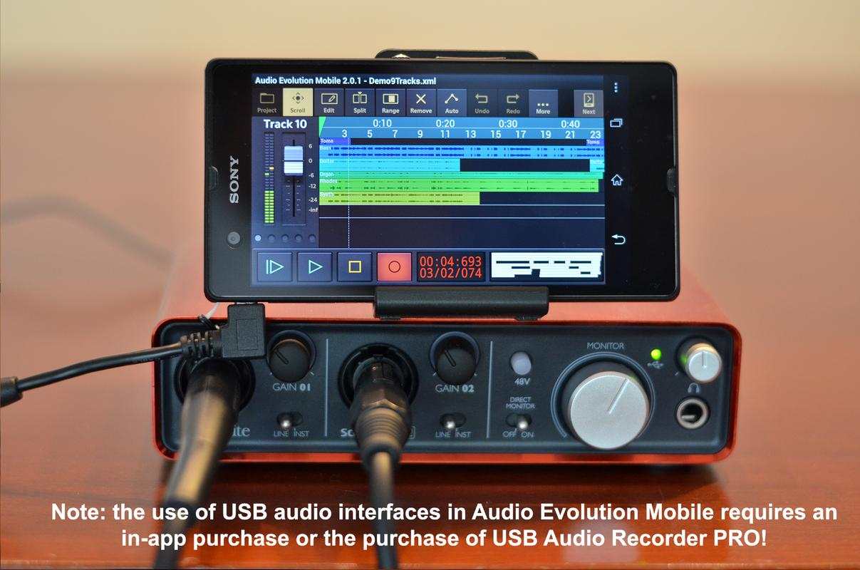 Audio evolution mobile studio trial for android apk download for Mobile studio