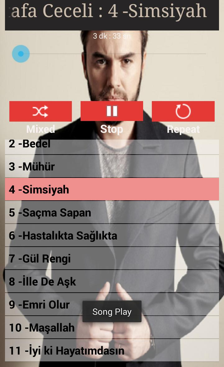 Mustafa Ceceli Sarkilari For Android Apk Download