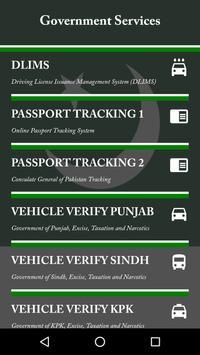 Pakistan E-Services screenshot 3