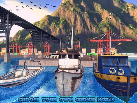 Fishing Ship Simulator 2019 : Fish Boat Game screenshot 9