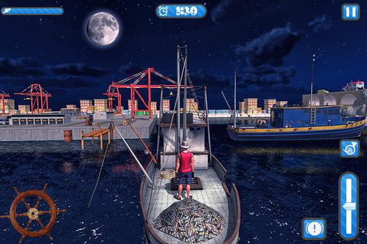 Fishing Ship Simulator 2019 : Fish Boat Game screenshot 12