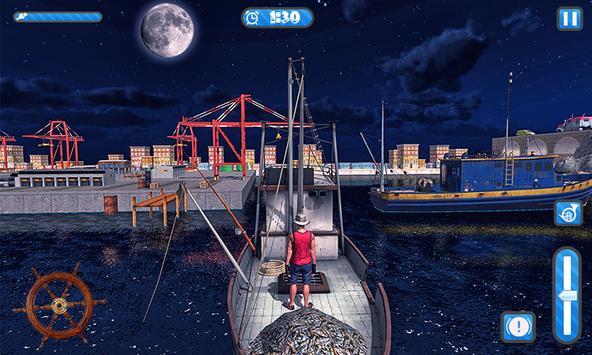 Fishing Ship Simulator 2019 : Fish Boat Game screenshot 2