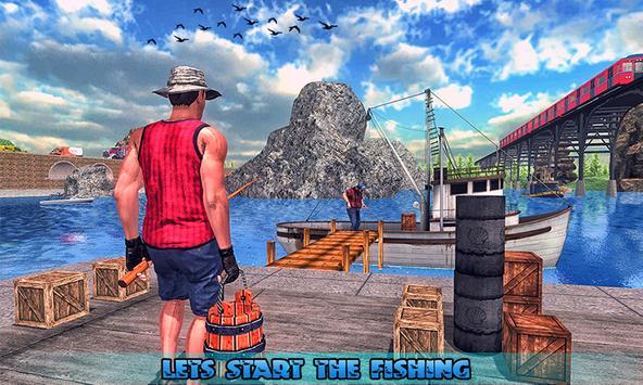 Fishing Ship Simulator 2019 : Fish Boat Game screenshot 3