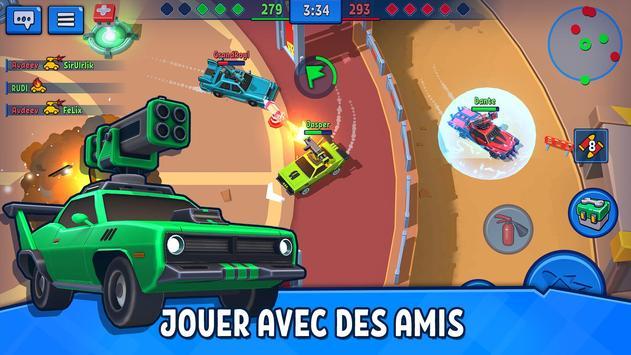 Car Force: Combat de Voitures PvP capture d'écran 7