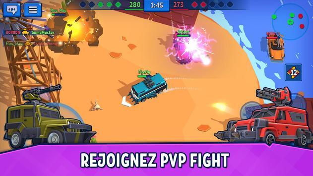 Car Force: Combat de Voitures PvP capture d'écran 16