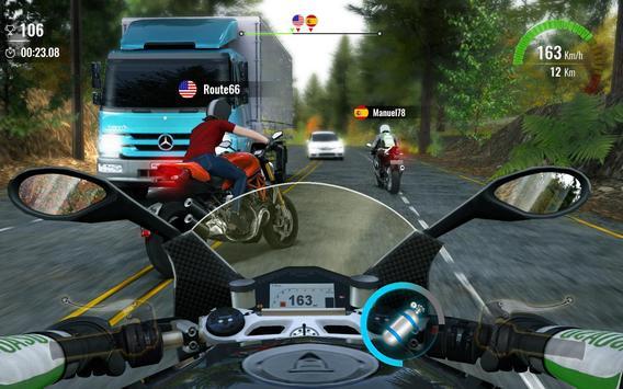Poster Moto Traffic Race 2