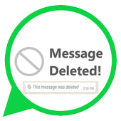 Deleted Whats Message (& Media) icon