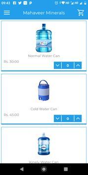 Mahaveer Minerals - A Water Delivery App screenshot 1