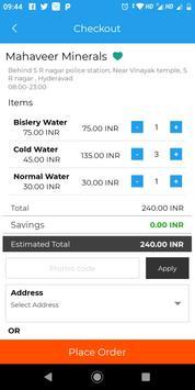 Mahaveer Minerals - A Water Delivery App screenshot 2