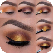 Eye Makeup Tutorial step by step icon