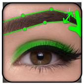 Eyebrow Editor App icon