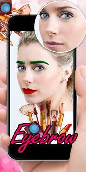Eyebrow Editor App screenshot 16