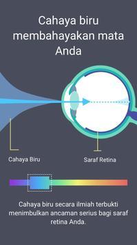 Filter Cahaya Biru - Mode Malam, Pelindung Mata
