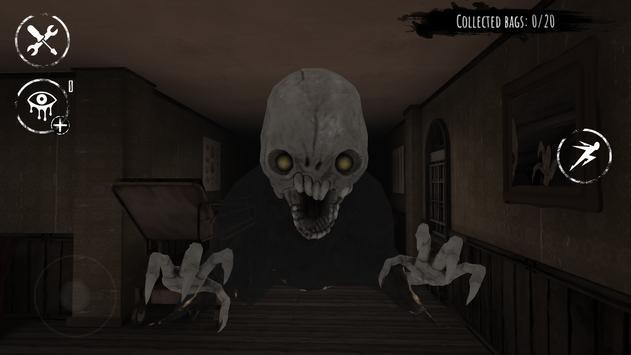 العيون - لعبة الخوف الملصق