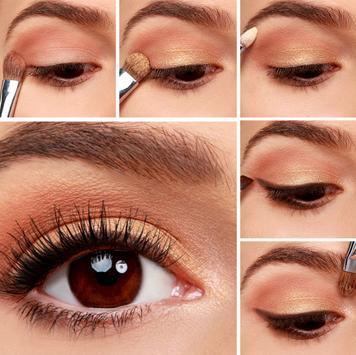New Eyeshadow Makeup Tutorial screenshot 1