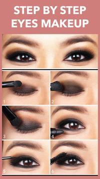 Eyes Makeup Step By Step screenshot 2