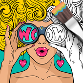 Girls Coloring icon