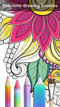 Garden Coloring poster