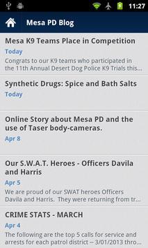 Mesa PD Mobile screenshot 5